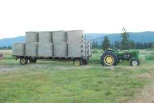 Hay - Rounds and 2nd cut bales