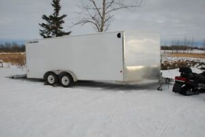 Snowmobiles and trailer package