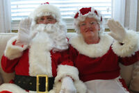 SANTA AND MRS. CLAUS FOR HIRE