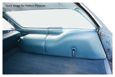 1968-1972 Chevy Chevelle Station Wagon Cargo Area Cover Set Wagon Seat Cover Set