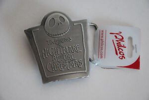 New Nightmare Before Christmas Belt Buckle Tim Burton Philco Edmonton Edmonton Area image 1