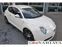 2012 Alfa Romeo Mito TB MULTIAIR QUADRIFOGLIO VERDE Petrol white Manual