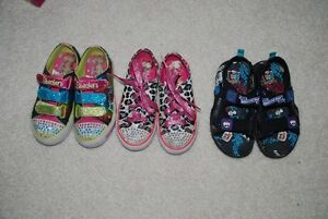 shoes for girl size 12 and 13, dress shoes, twinkle toes, crocs