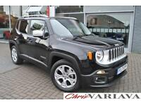 2017 Jeep Renegade 1.6 Multijet Limited 5dr DDCT Diesel black Automatic