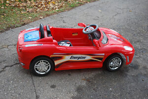 Electric Red Car