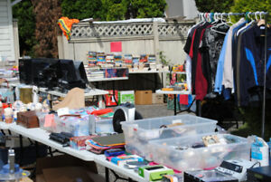 huge yard sale  100's and 100's of items  most stuff $1 or less