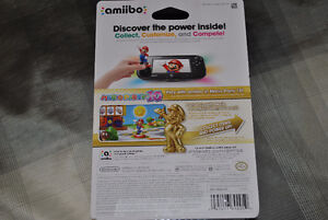 Golden/Or Mario Amiibo