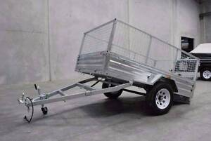 BEST PRICE GUARANTEE! Hot Dipped GALVANIZED 6x4 BOX TRAILER Wetherill Park Fairfield Area Preview