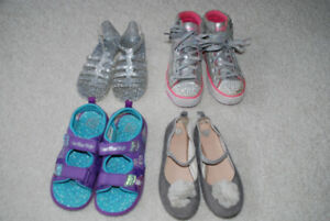 girls shoes size 13-1   $7-12