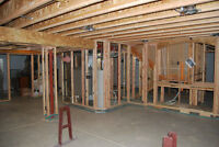 Basement-Framing NEEDED up to $25/H