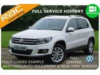 2012 Volkswagen Tiguan 2.0TDI BlueMotion Tech SE |Leather|F/History|Fully Loaded