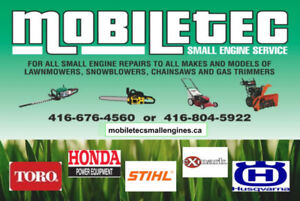 Mobiletec Small Engines Snowblower Repair