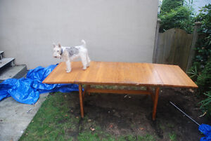Large Quebecoise Maplewood Table