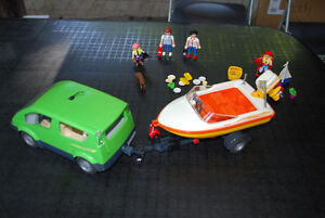 Playmobil family vacation set