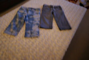Boys NWOT 2 Pairs Tractor Pants Size 4 years (Fit like a size 2)