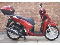 Honda SH 125, One owner, Super low mileage