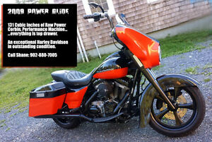 2009 Harley Davidson Street Glide BIG POWER  FULL CUSTOM