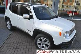 2015 Jeep Renegade LIMITED Petrol white Manual