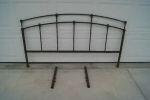 Metal head board frame and legs