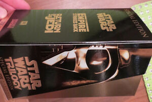 STAR WARS COLLECTOR VHS TAPES
