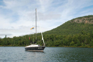 PRICE REDUCED - 23' Paceship Sailboat - asking $3,500