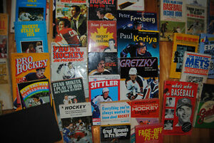 Lot de livre sports vintage books