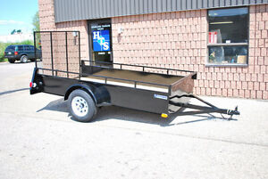 4' x 8' Highland steel utility trailer