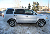 2005 HONDA PILOT EX-L*AWD*HTD.LEATHER*3rd ROW*SUNROOF*