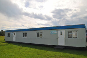 12x60 ATCO skidded modular office TRAILERS