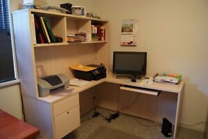Office Desk & Computer Center