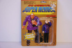 DC COMICS SUPER HEROES LEX LUTHOR POWER PUNCH COLLECTION ACTION