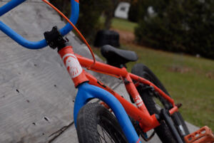 Custom DK BMX 100% Crmo with aftermarket Sunday Parts