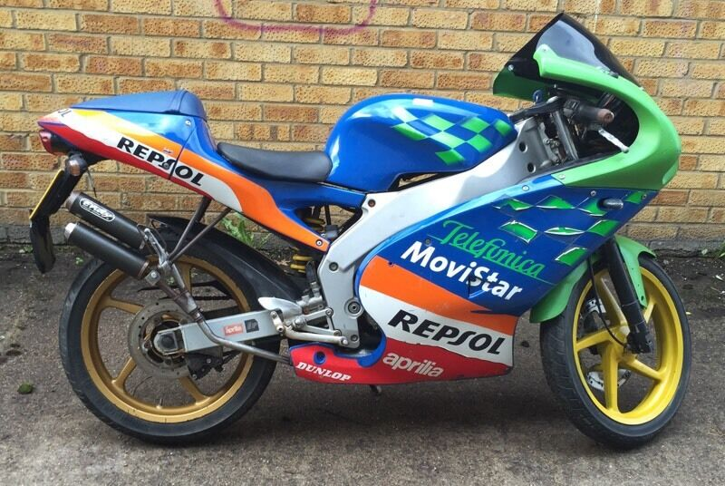 aprilia rs50 rs 50 2005 spares or repairs mot just ran out. Black Bedroom Furniture Sets. Home Design Ideas