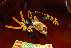 NINJAGO GOLDEN DRAGON
