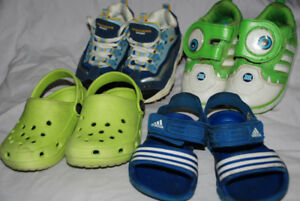 BOY toddler running shoes 5/6 ADIDAS MIKE WAZOVSKI SKECHERS