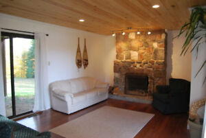 Vacation Cottage Rental in Bancroft - Special Price!