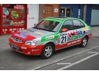 Hyundai Accent 1.5 auto CDX RALLY CHAMPIONSHIP LOOKALIKE