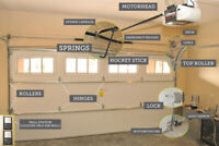 Garage Door REPAIR - Garage Door Springs & Cables