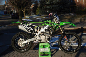 2013 Kawasaki KX250F - Excellent condition