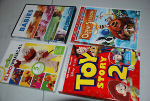 kids DVD Movie ELMO, TOY STORY, OPEN SEASON, BABIES