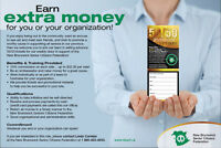 Earn Extra Money Selling Advance 50/50 Lottery Tickets
