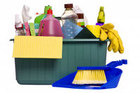 Cleaner available - (residential or commercial)