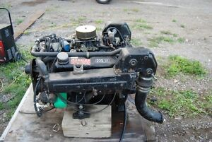 Ford boat Engine 302 Motor, 351 Heads, 225 HP