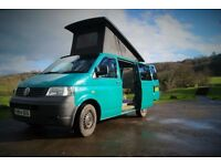 VW Transporter T5. Camper. Cruise control. Pop top. 12 month MOT