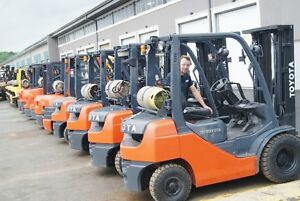 forklifts ,attachments for rent and sell