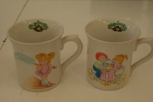 1984 Cabbage Patch Kids Cup 6 TOTAL $15 EACH,ALL 6 FOR $80