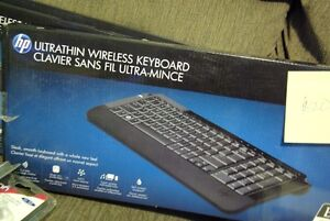HP wireless keyboards (I have 2 of these)
