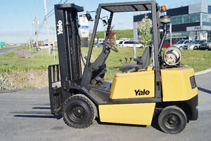 FORKLIFT,CHARIOT ELEVATEUR,PROP,PNEUMATIC,S/S,YALE GLP050