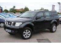 2008 (58) NISSAN PATHFINDER 2.5 DCI DIESEL TREK 169 BHP MANUAL BLACK MANUAL