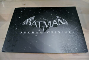 Art Book Batman Arkham Origins collectionneur + BONUS !!